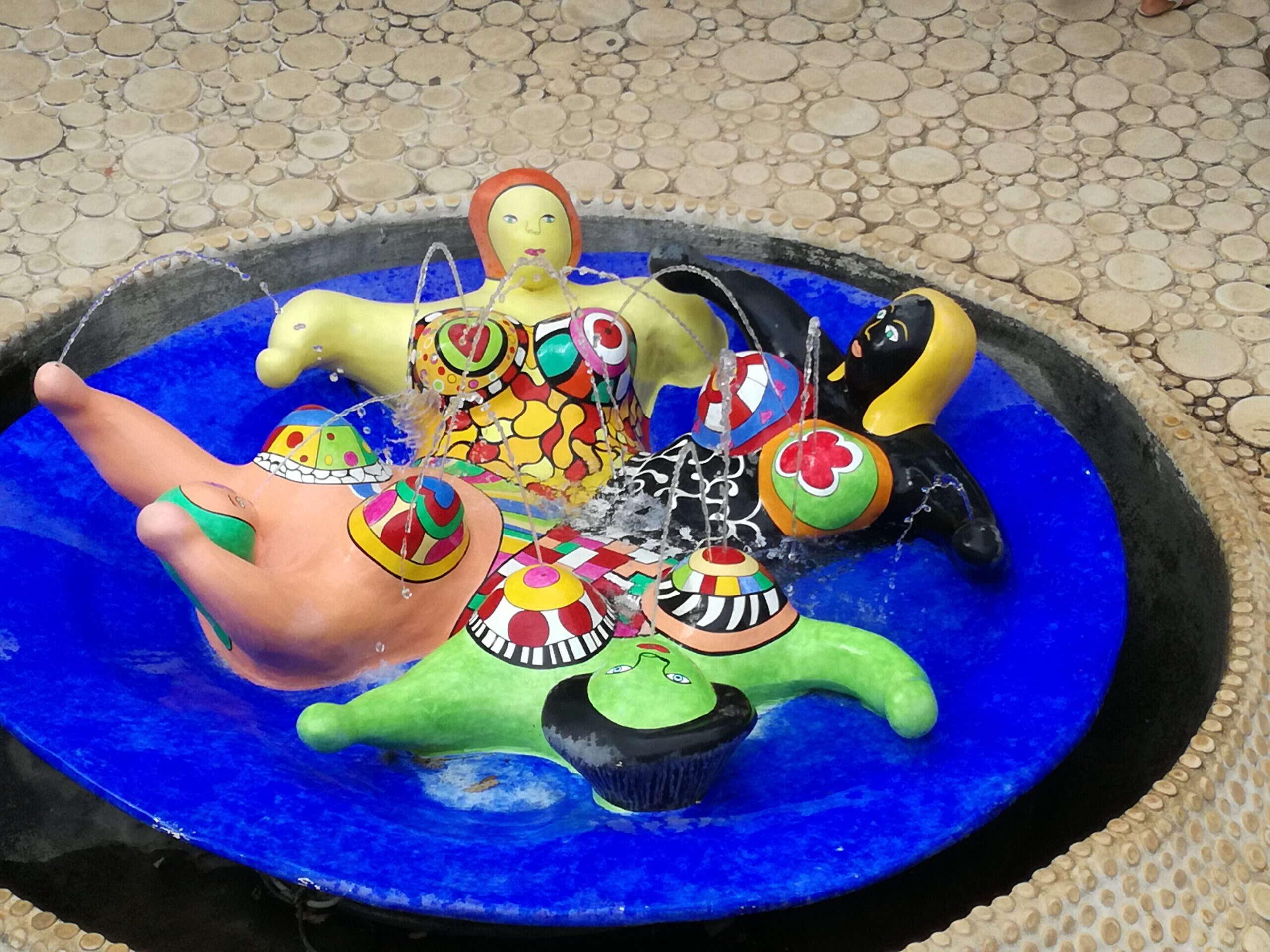 Brunnenskulptur von Niki de Saint Phalle